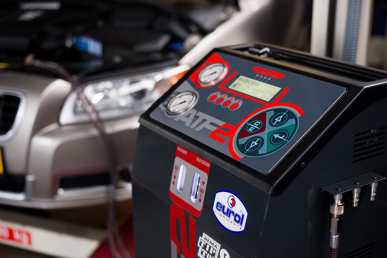 Exact de juiste hoeveelheid en geschikte olie voor uw automaat